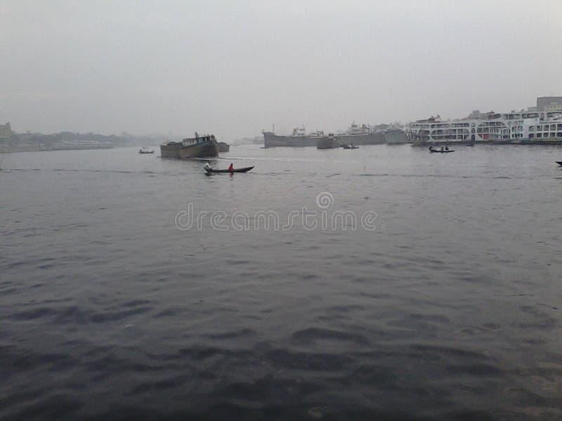 Dhaka Sadarghat obrazy stock