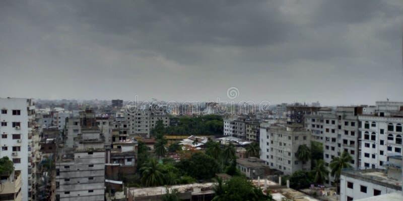Dhaka stad arkivbild