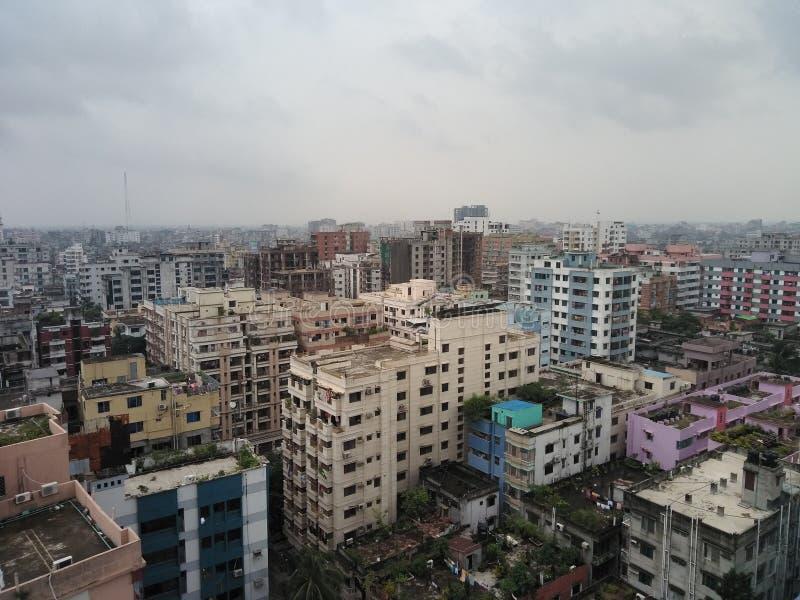 Dhaka stad royaltyfri fotografi