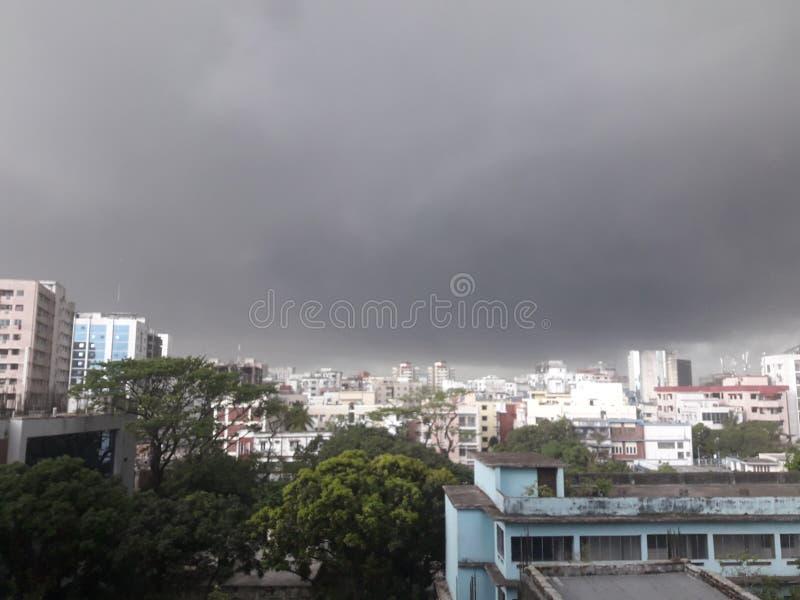 Dhaka-Stadt lizenzfreies stockbild