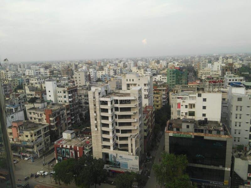 Dhaka-Stadt stockfoto