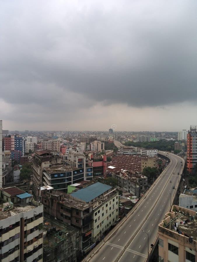 Dhaka-Stadt stockbilder