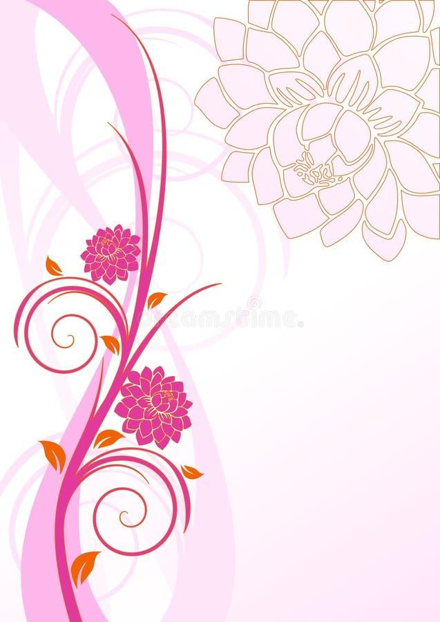 Dhalia illustration libre de droits