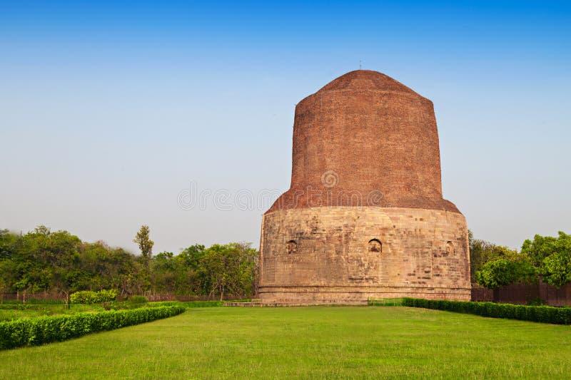 Dhamekh Stupa lizenzfreies stockbild