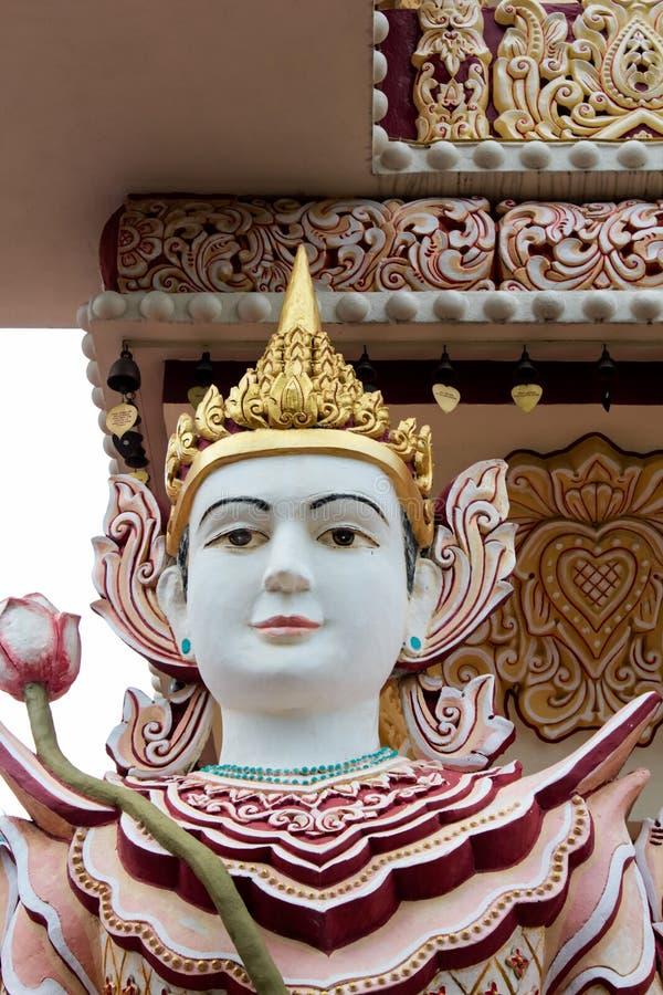 Dhamikarama Birmańska świątynia w Penang, Malezja zdjęcia stock