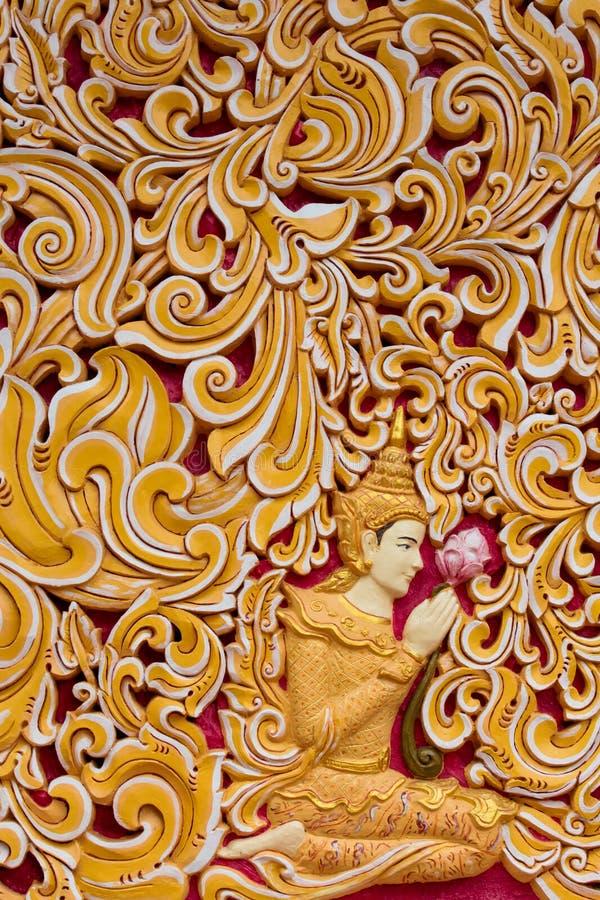 Dhamikarama Burmese tempel i Penang, Malaysia arkivfoto