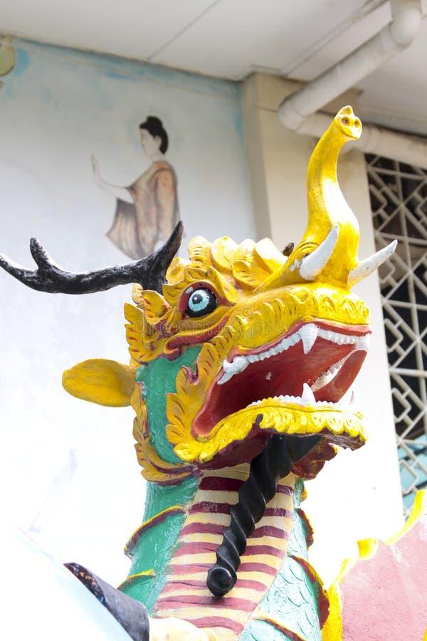 Dhamikarama Burmese Temple in Penang stock photos