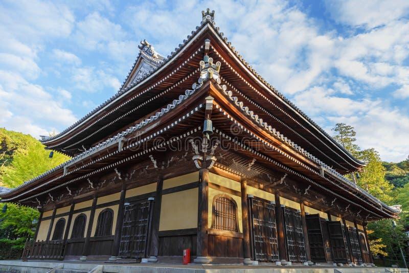 Dhamma Hall au temple de Nanzen-JI à Kyoto photographie stock libre de droits