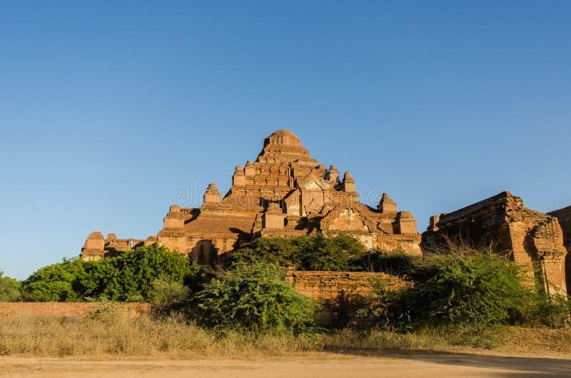 Dhammayangyi świątynia duża świątynia w Bagan (poganin) zdjęcia royalty free