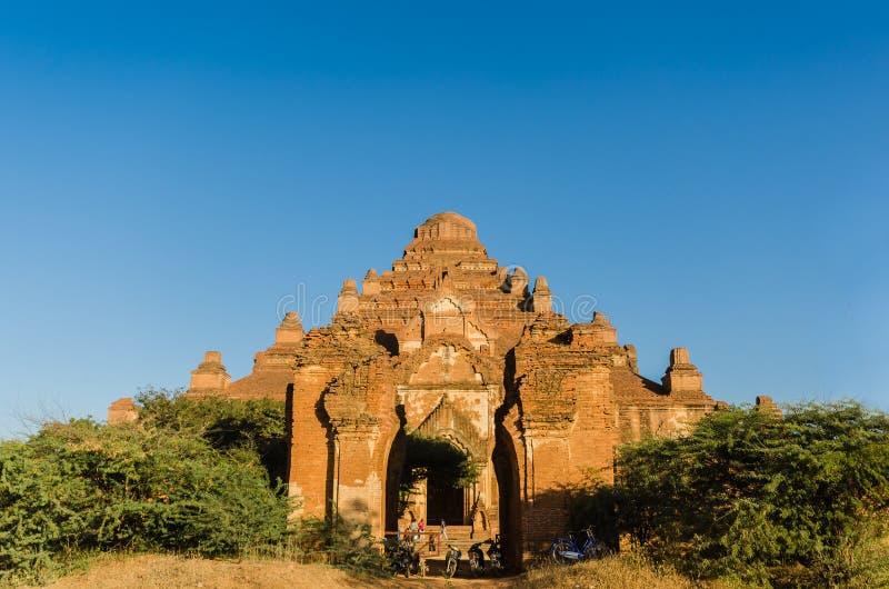Dhammayangyi świątynia duża świątynia w Bagan (poganin) obrazy royalty free