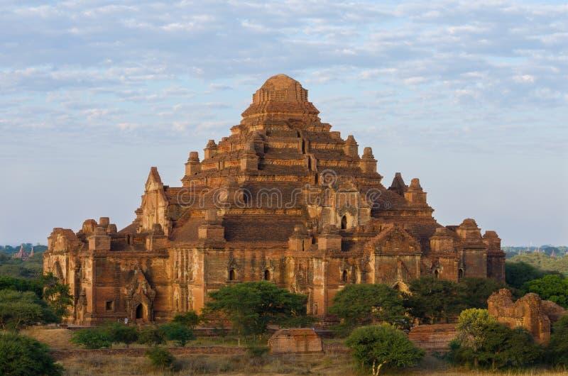Dhammayangyi świątynia duża świątynia w Bagan (poganin) obrazy stock