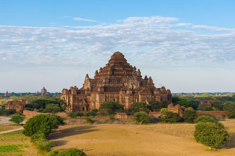 Dhammayangyi świątynia duża świątynia w Bagan (poganin) zdjęcia stock