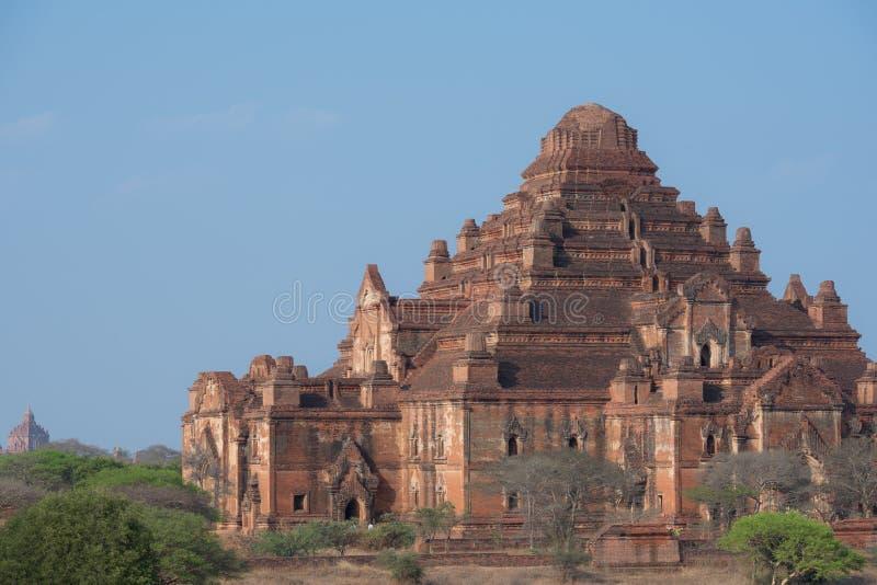 Dhammayangyi świątynia duża świątynia w Bagan, Myanmar obraz stock