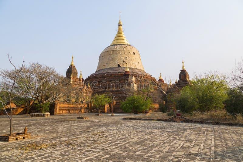 Dhammayazika Świątynie Bagan (poganin) obraz stock