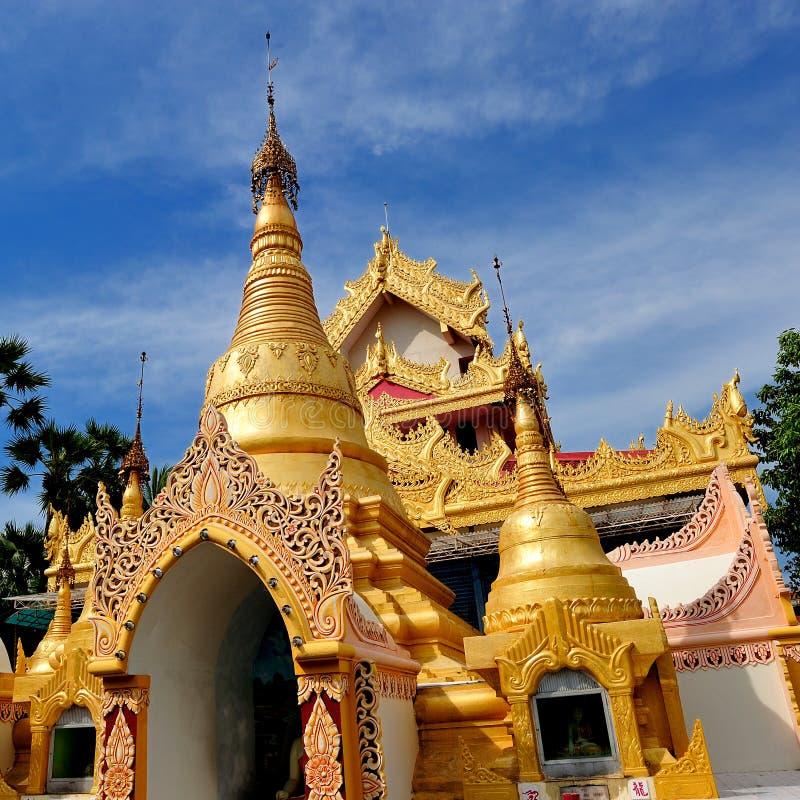 Dhammikarama Burmese Buddhist Temple royalty free stock photo