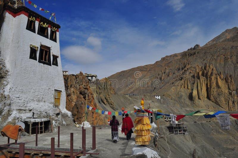 Dhankar Kloster stockfoto