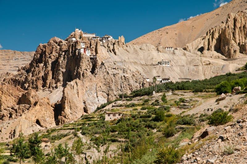 Download Dhankar monastery stock photo. Image of ethnicity, background - 27911976