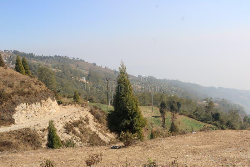Dhankuta royalty-vrije stock afbeelding