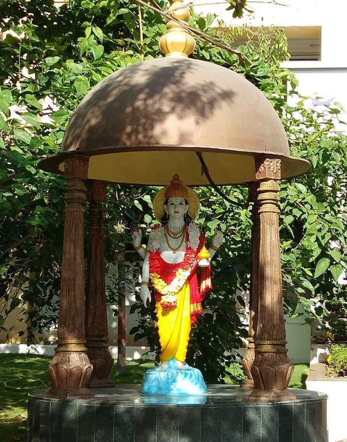 Dhanvantari gud av Ayurveda arkivbild