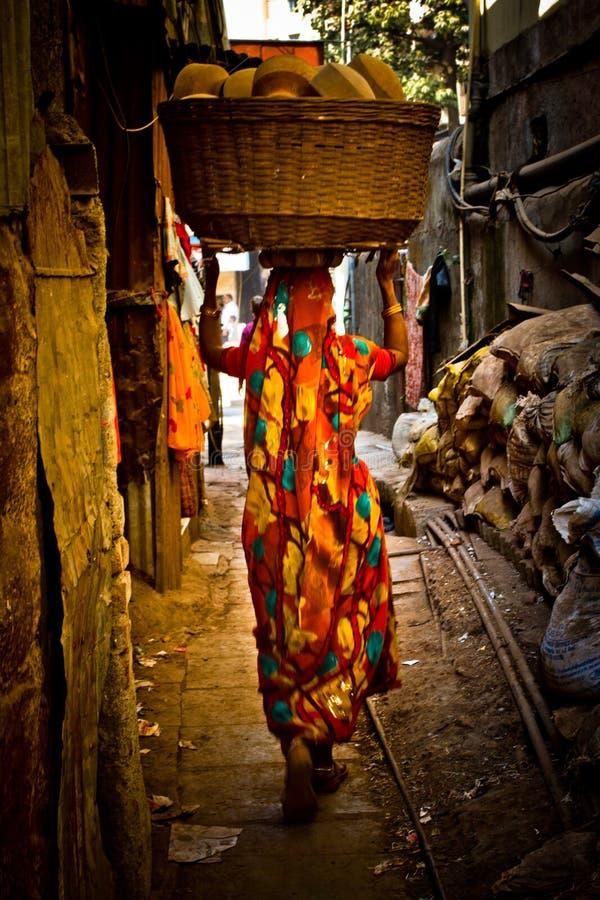 The Dharavi Slums of Mumbai, India. Dharavi Slums of Mumbai, India stock photos