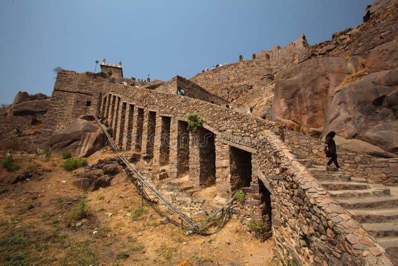Download Dharbar Hall, Golconda Fort, Hyderabad Editorial Photo - Image: 23853516