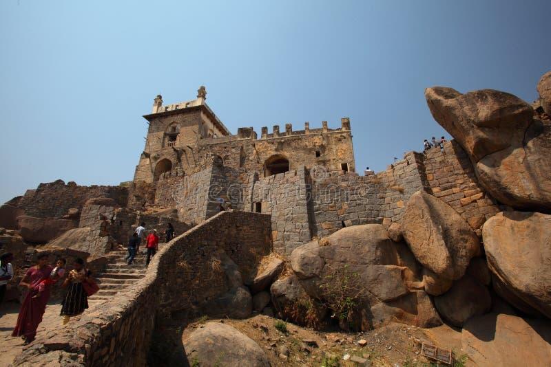 Download Dharbar Hall, Golconda Fort, Hyderabad Editorial Photo - Image: 23854116