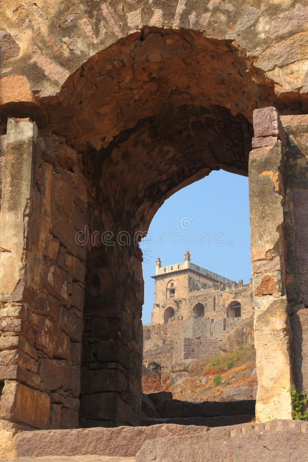Download Dharbar Hall, Golconda Fort, Hyderabad Editorial Photography - Image: 23855517