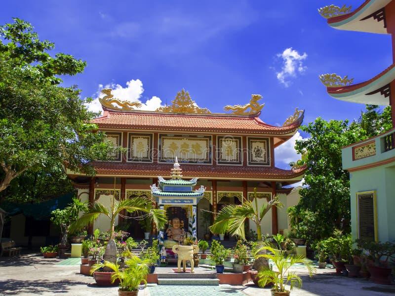 Dharma Temple stockfoto