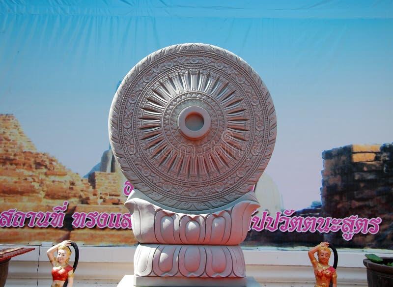 Dharmachakra fotografia stock libera da diritti