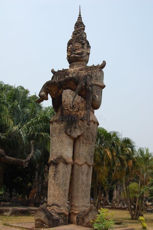 Dharmapala - guardião do Dharma e da doutrina budista fotos de stock