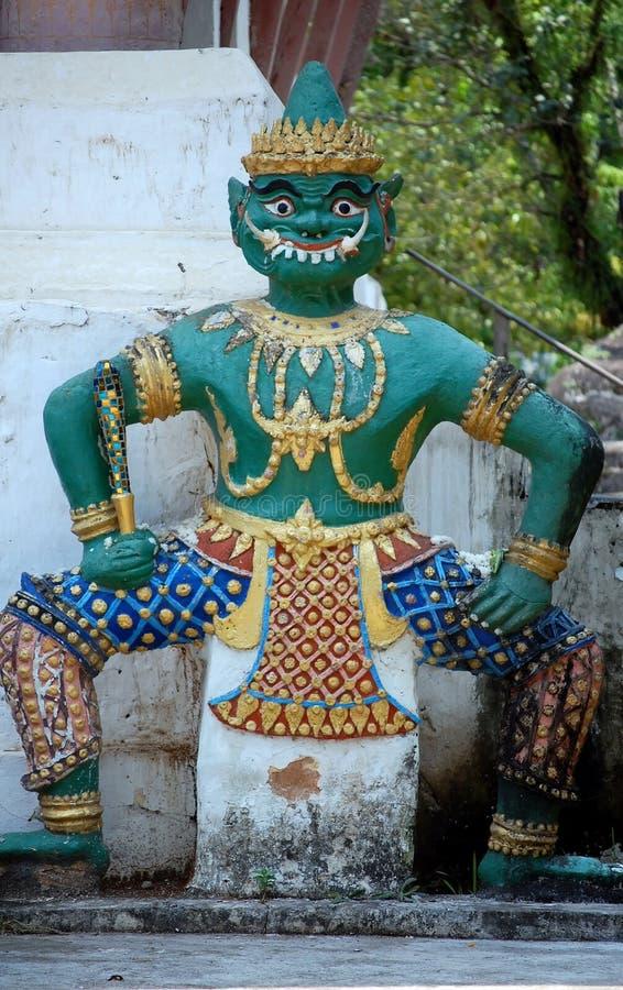Dharmapala - guardião do Dharma e da doutrina budista foto de stock royalty free