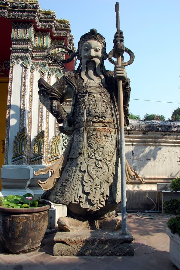 Dharmapala - guardi?o do Dharma e da doutrina budista fotografia de stock royalty free