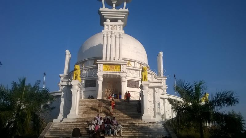 Dhauli tample. Click here near tample stock photos