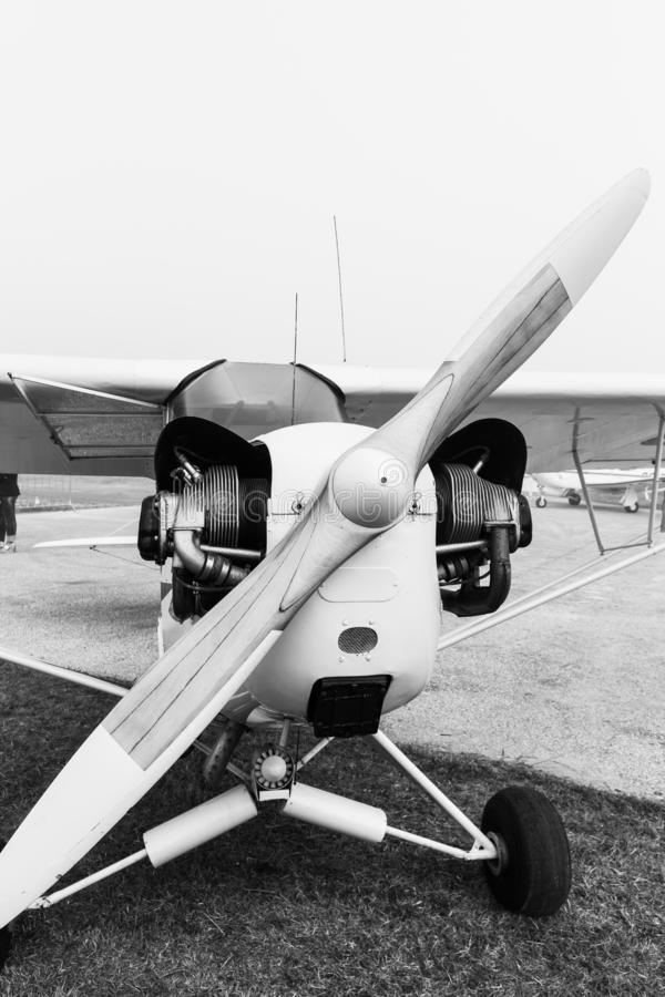 DHC-1 Chipmunk samolot zdjęcie stock