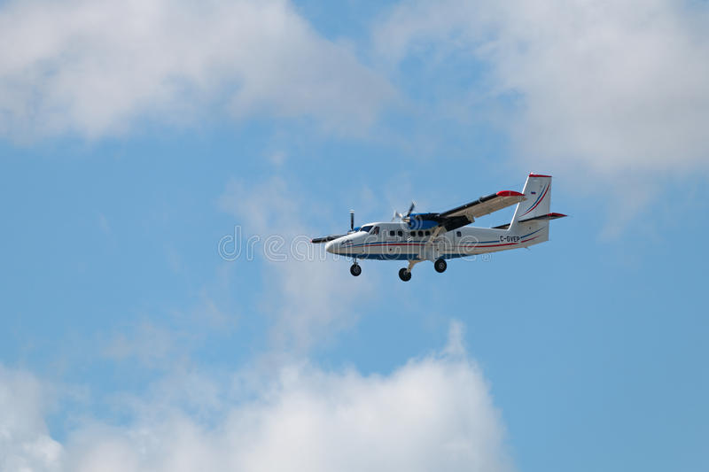 DHC-6 400 stock photography