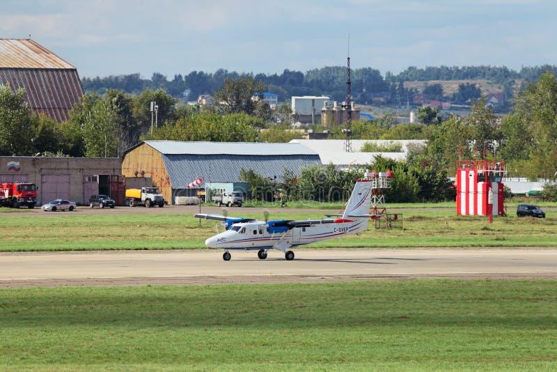 DHC-6 400 stock photo