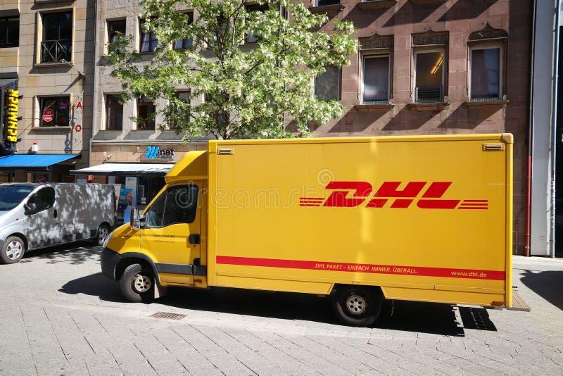 DHL, Allemagne images stock