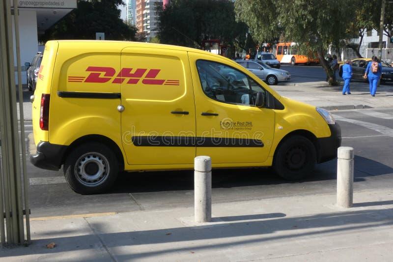 DHL stock image