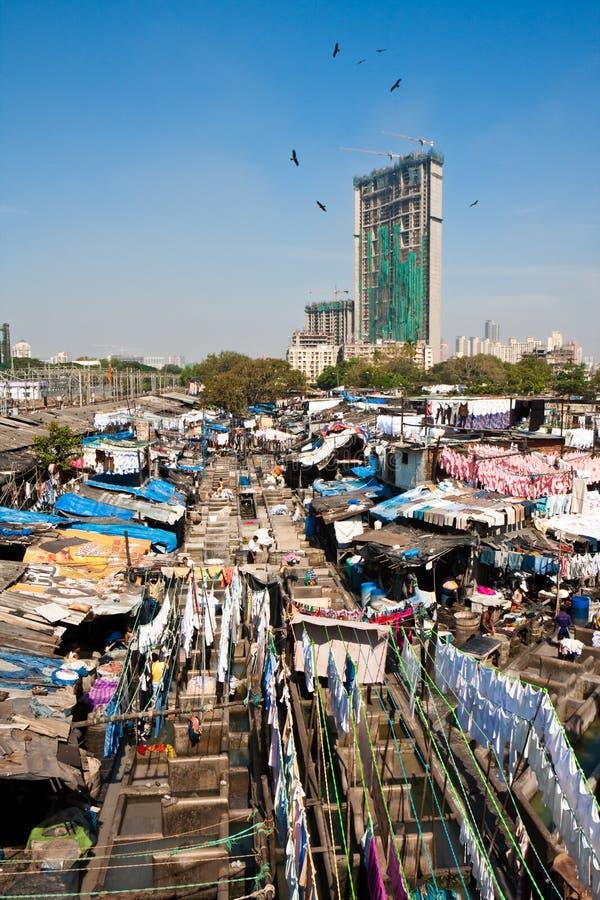 Free Dhobi Ghat Laundry Stock Image - 12160911