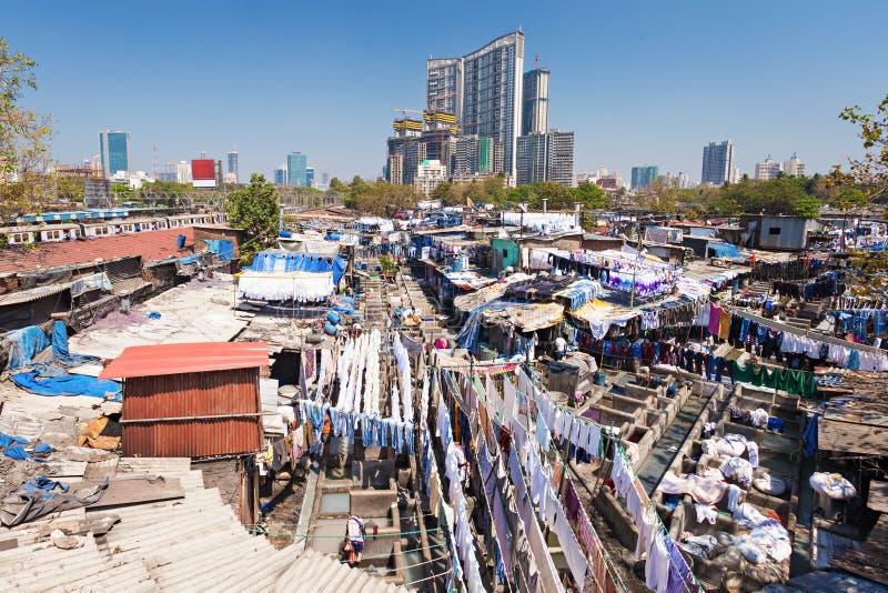 Dhobi Ghat, Mumbai foto de stock royalty free