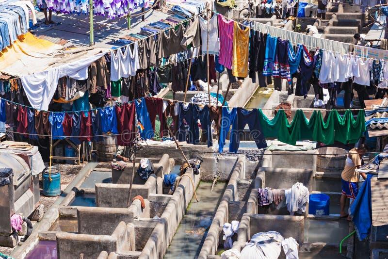 Dhobi Ghat, Mumbai photographie stock libre de droits
