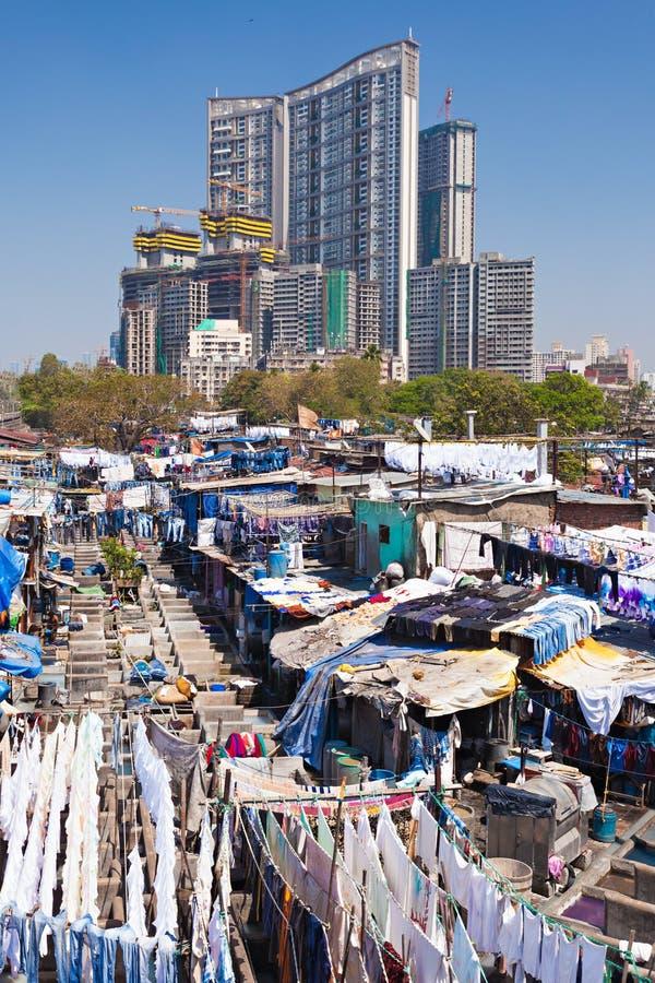 Dhobi Ghat, Mumbai fotos de stock