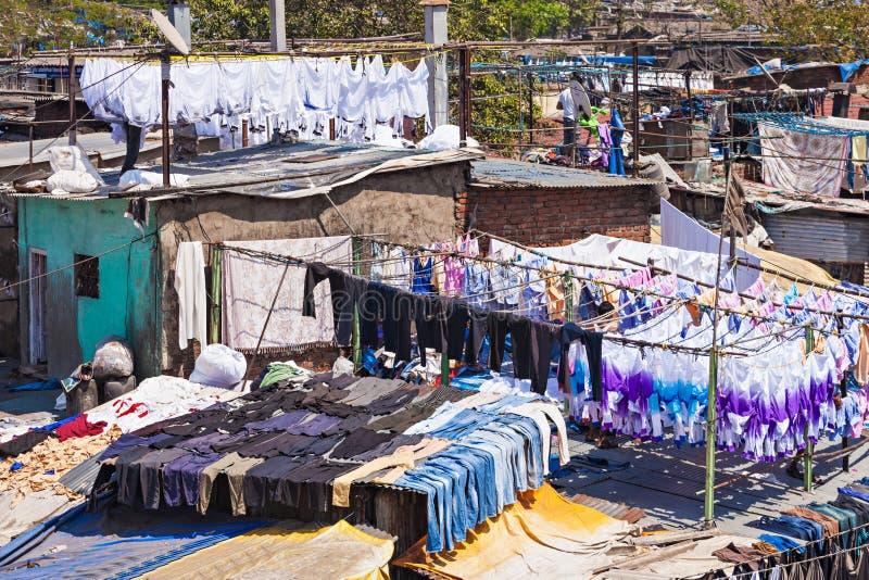Dhobi Ghat, Mumbai fotografia de stock