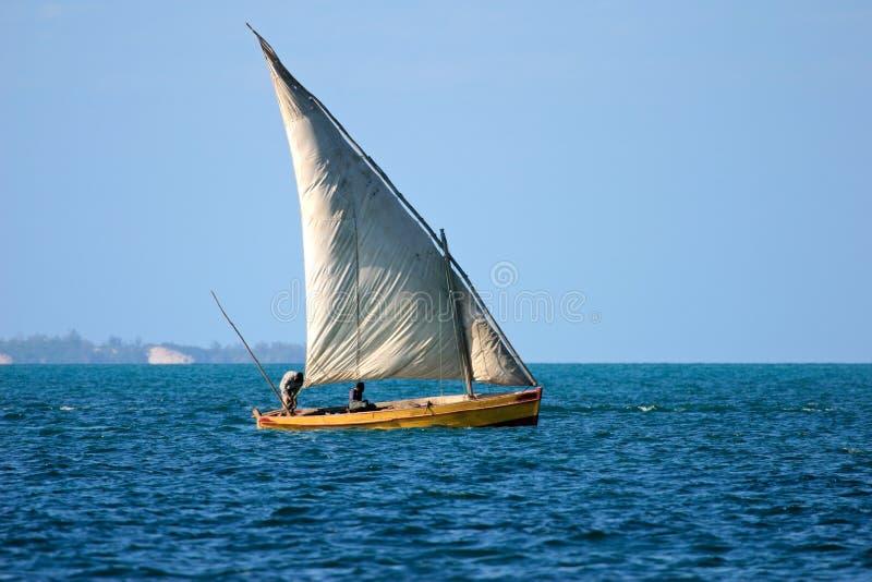 dhow Mozambiku zdjęcie royalty free