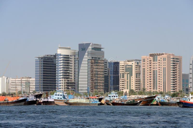 dhows Дубай заводи стоковая фотография