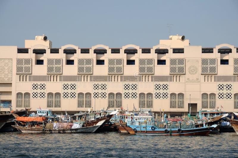 dhows Дубай заводи стоковое изображение