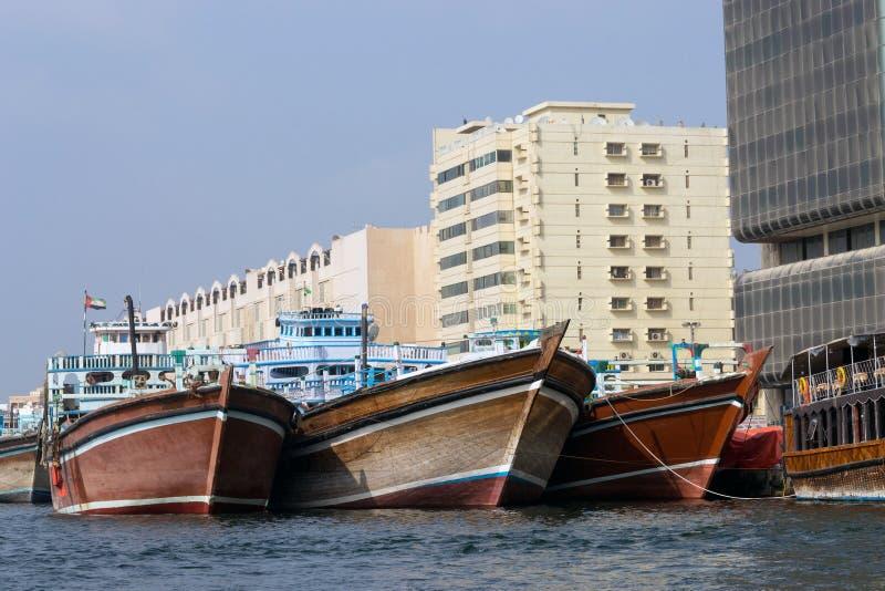 dhows Дубай заводи стоковое изображение rf