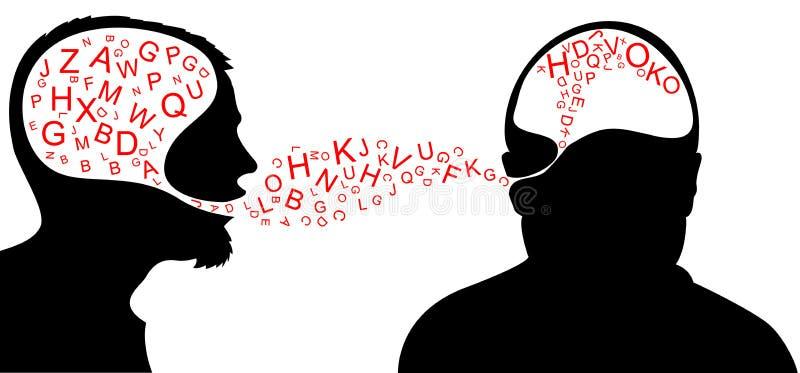 Diálogo stock de ilustración