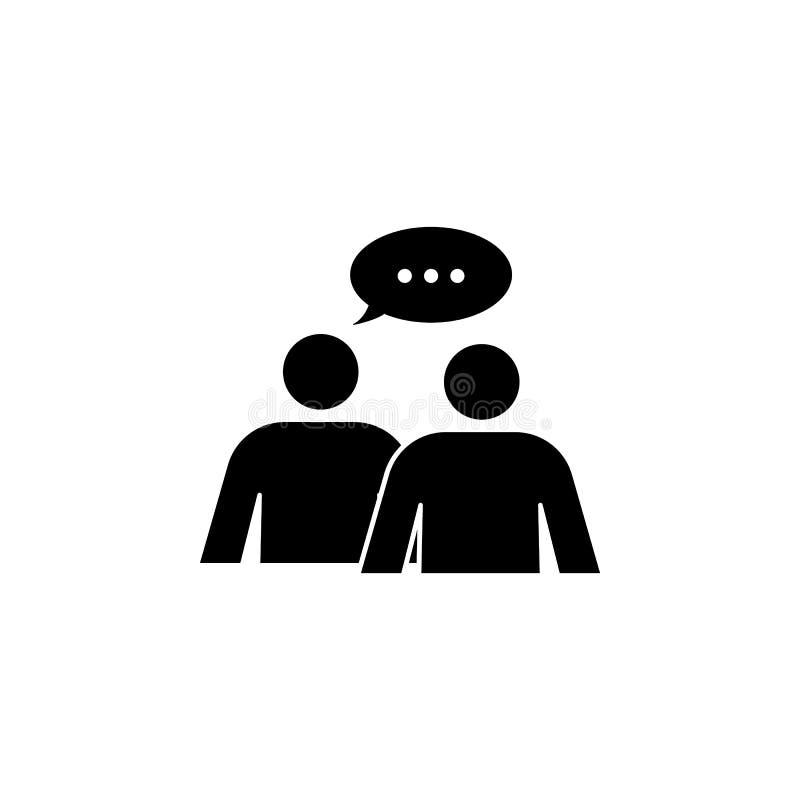 diálogo del icono de la gente libre illustration
