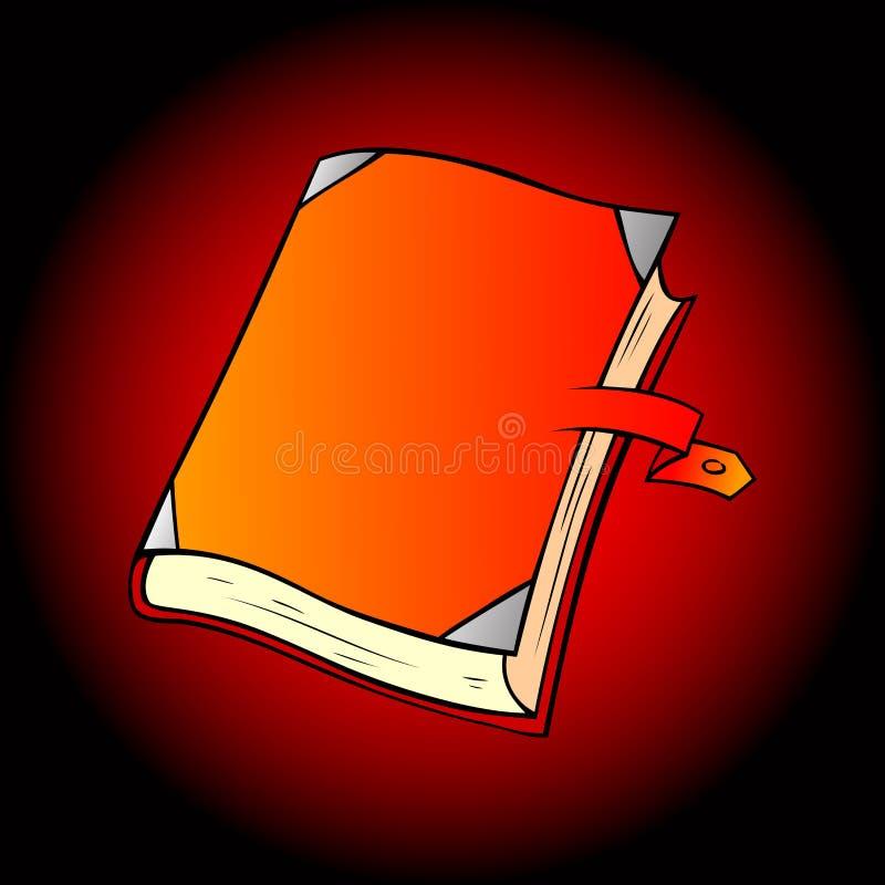 Diário, notas ilustração royalty free